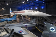 Concorde 002 on display at the Museum