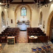 Nave and Chancel of Fleet Air Arm Memorial Church