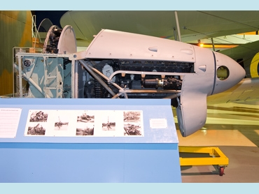 Fairey Barracuda II (nose section) (DP872)