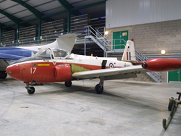 Hunting Jet Provost T3A (XN462)