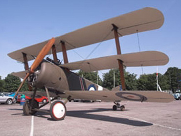 Sopwith Triplane (replica) (N5492)